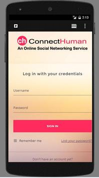ConnectHuman-Social Networking poster