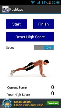 Push ups Counter Free poster