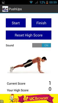Push ups Counter Free apk screenshot