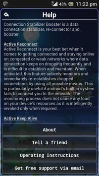 Connection Stabilizer Booster screenshot 2