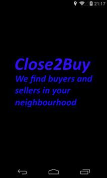 Close2Buy poster