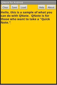 QNote apk screenshot