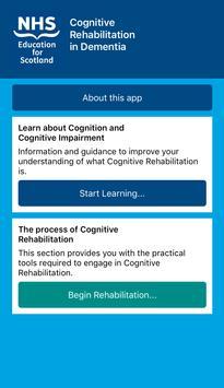 Cognitive Rehab in Dementia screenshot 1