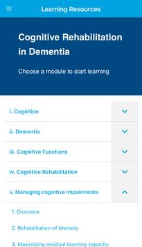 Cognitive Rehab in Dementia apk screenshot