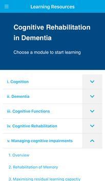 Cognitive Rehab in Dementia screenshot 2