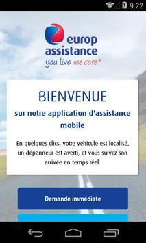L'assistance mobile poster