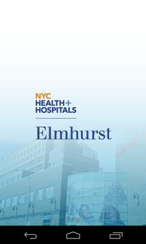 NYC H+H Elmhurst E-Map poster