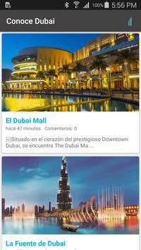 Conoce Dubai poster