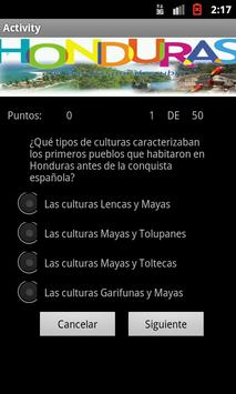 Conoce Honduras apk screenshot