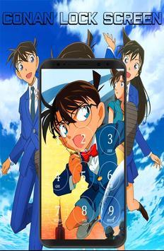 Conan Lock Screen poster