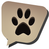 Gift pets and animals icon