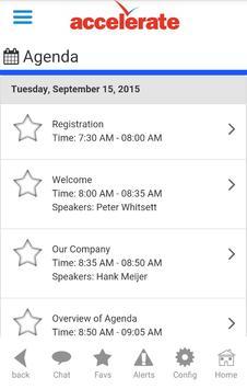Accelerate Summit 2015 screenshot 4