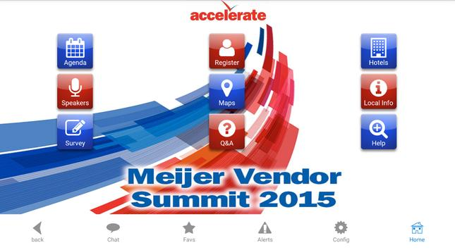 Accelerate Summit 2015 poster