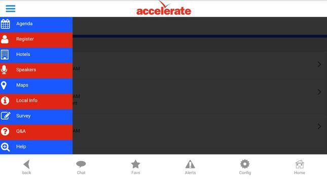 Accelerate Summit 2015 screenshot 2