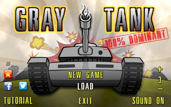 Gray Tank Free poster