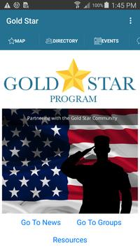 Gold Star Program poster