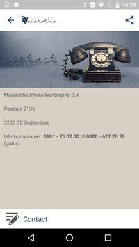 Maranatha Uitvaartverzorging apk screenshot