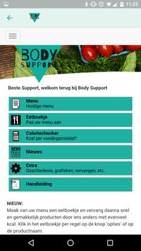 Body Support poster