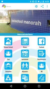 Basisschool Menorah poster