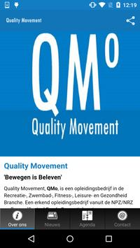 Quality Movement poster