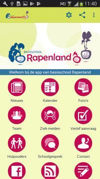 Basisschool Rapenland poster