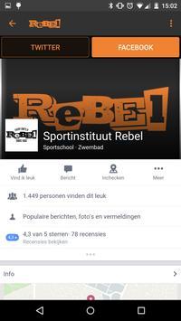 Rebelsport apk screenshot