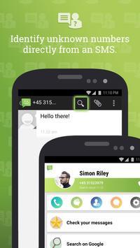 SMS do Android 4.4 imagem de tela 1