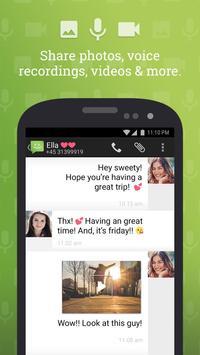 SMS do Android 4.4 imagem de tela 2
