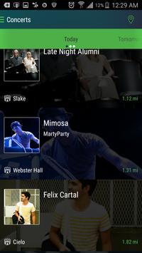 ConcertPass screenshot 1
