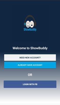 Showbuddy Finder poster