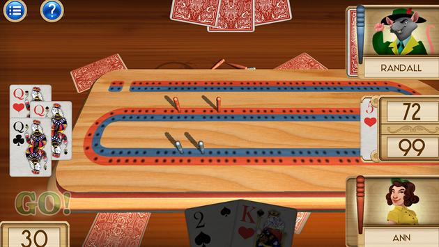 Aces® Cribbage poster
