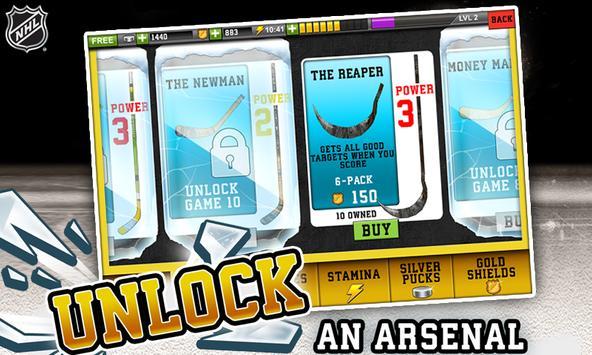 NHL Hockey Target Smash apk screenshot