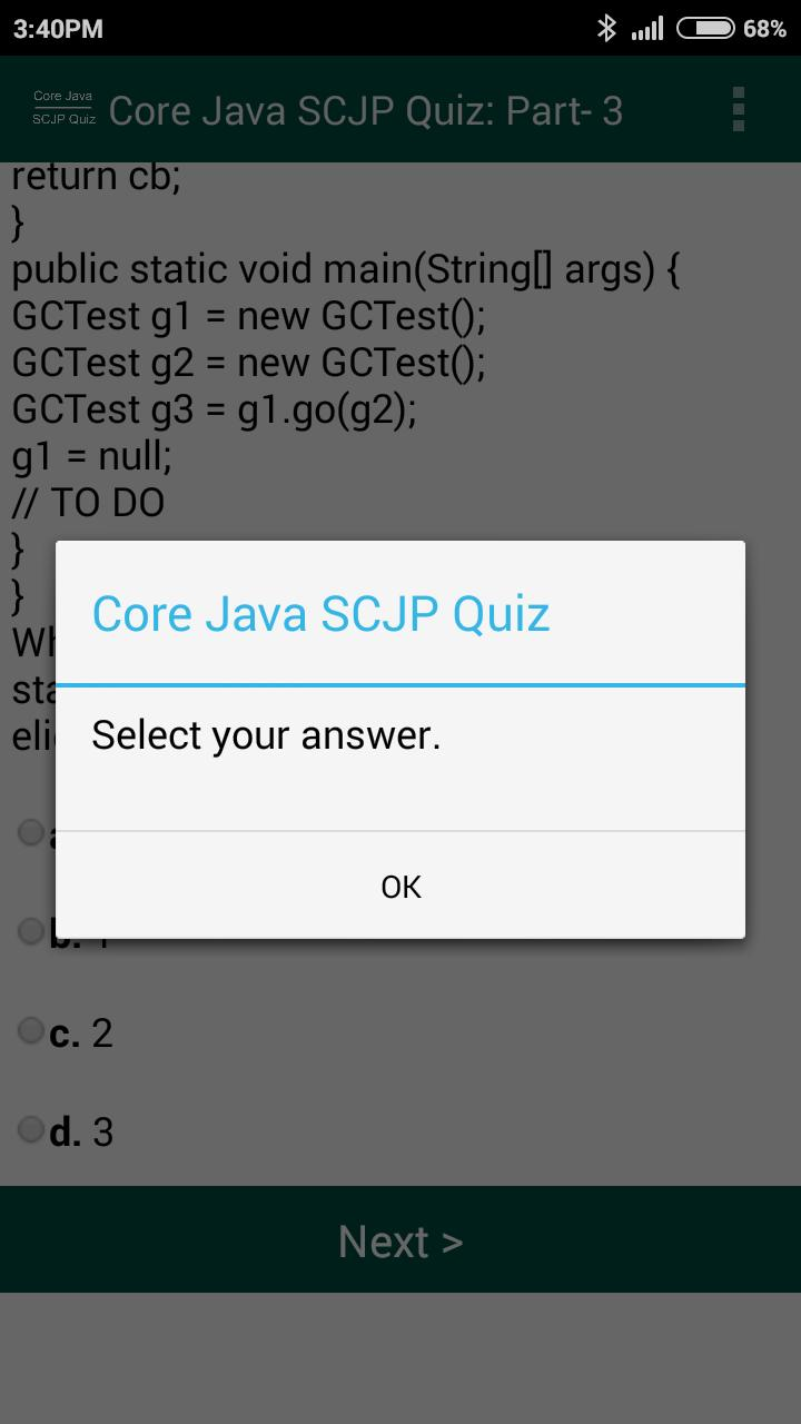 Core Java SCJP Quiz Questions for Android - APK Download