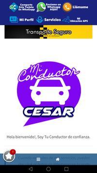 Cesar Mi Conductor poster