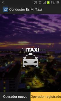 Conductor Es Mi Taxi poster
