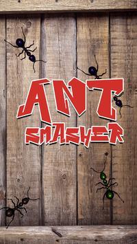 Ant Smasher - Ninja ant smasher poster