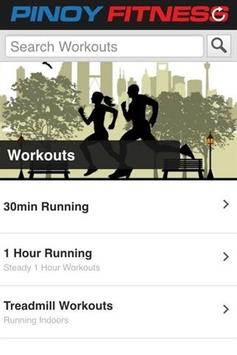 Pinoy Fitness Mobile apk screenshot