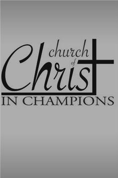 Champions CofC poster