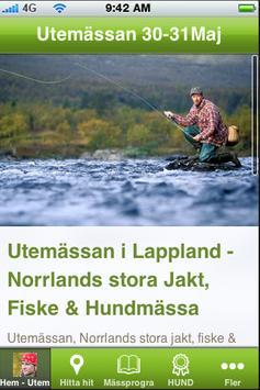 Utemässan i Lappland poster