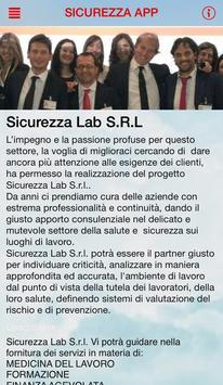Sicurezza Lab APP screenshot 1