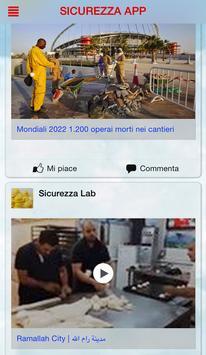 Sicurezza Lab APP screenshot 2