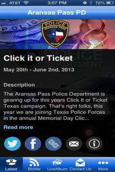 AP Police poster
