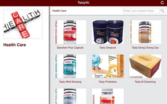 Tasly4U apk screenshot