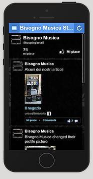 Bisogno Musica screenshot 1