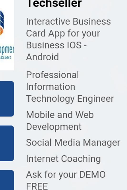 Interactive Business Card App For Android Apk Download