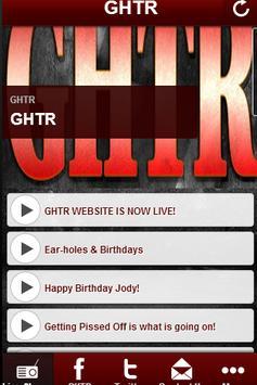 GHTR poster