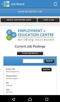 Employment + Education Centre screenshot 1