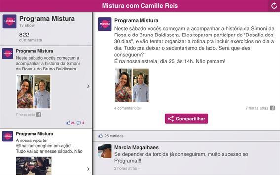 Mistura com Camille Reis screenshot 4
