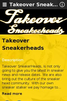 Takeover Sneakerheads poster
