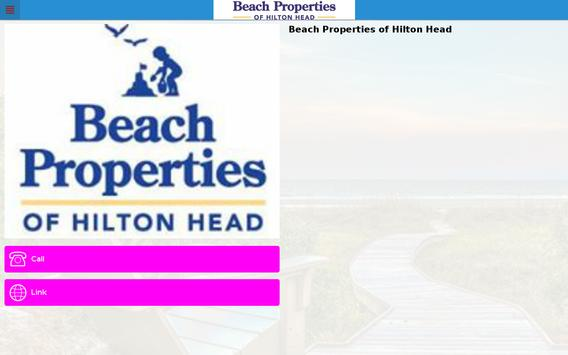 Beach Properties Hilton Head screenshot 3